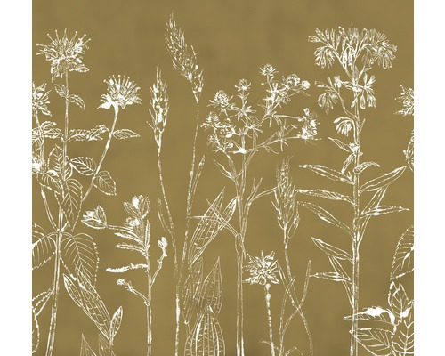 Fototapet Cosy Balance Flower Silhouette