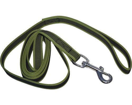 Hundkoppel antiglid 2x190cm grön
