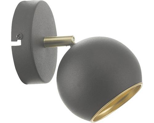 Vägglampa ORIVA Globe svart