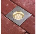 Decklight PAULMANN Plug & Shine kantig 3,6W 300lm 3000K Ø95/100mm IP65 230/24V silver