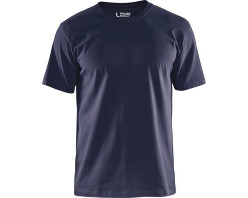 T-Shirt BLÅKLÄDER marinblå strl. L