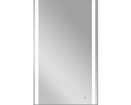 DSK LED-spegel Silver Boulevard IP24 60x100 cm