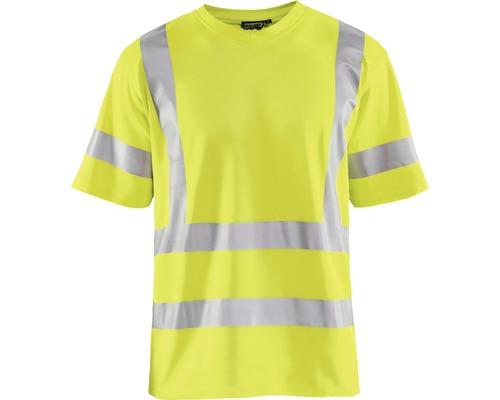 Varsel T-shirt BLÅKLÄDER UV-skyddad varselgul strl. XXXL