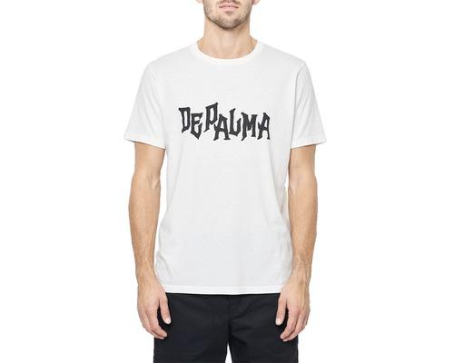 T-Shirt DEPALMA Metal vit strl. XXL