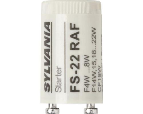 Glimtändare FS 22 vit tandemkoppling lysrör