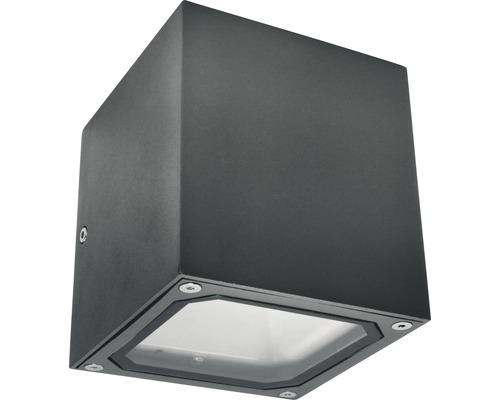 Väggarmatur MALMBERGS Cube ll 2xG9 IP54 mörkgrå