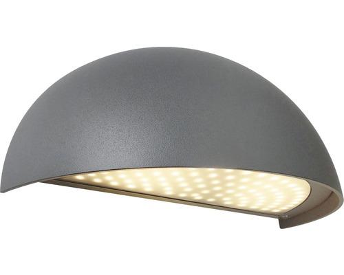 Väggarmatur MALMBERGS Boda LED 3000K IP54 mörkgrå