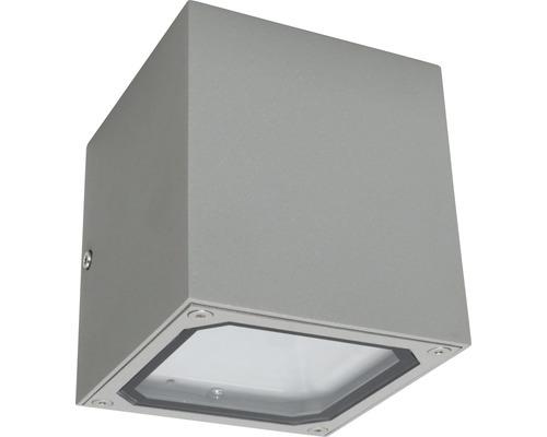 Väggarmatur MALMBERGS Cube ll 2xG9 IP54 silver