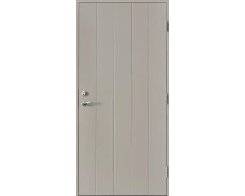 Ytterdörr SY115 grå tät 10x20 höger