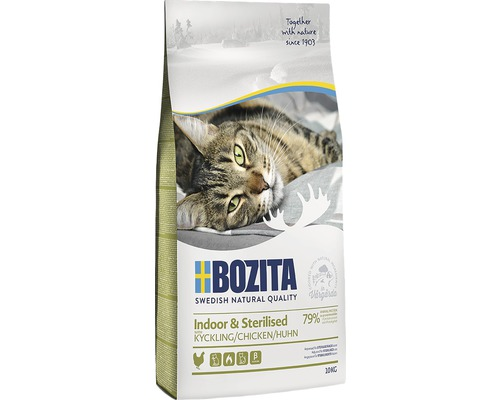 Kattmat Bozita Indoor&Sterilized 10kg