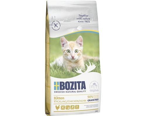 Kattmat Bozita Kitten Grain free Chicken 2kg