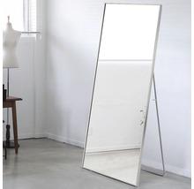 Spegel THE WALL Rio aluminiumram silver 50x150