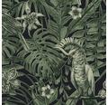 Tapet A.S. CREATION Jungle grön svart