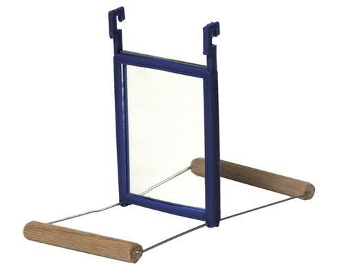Spegelgunga Akita trä 15x7x10cm