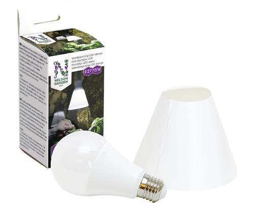 Växtbelysning NELSON GARDEN LED-lampa 15W inkl. skärm