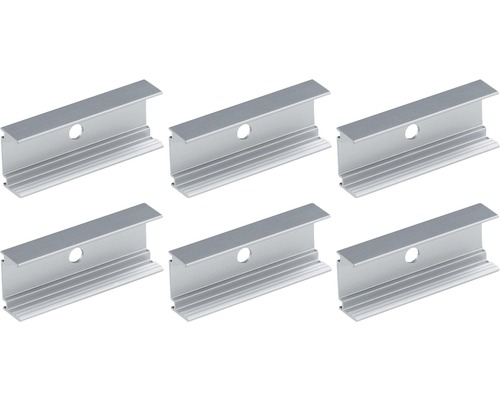 Monteringsclips PAULMANN Plug & Shine till LED stripe 5cm 6st