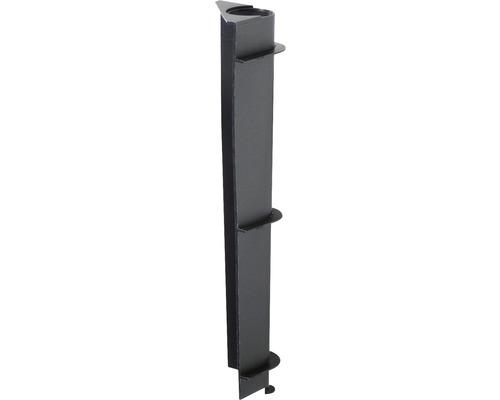 Påfyllningsrör för Cubico Ø30cm plast svart