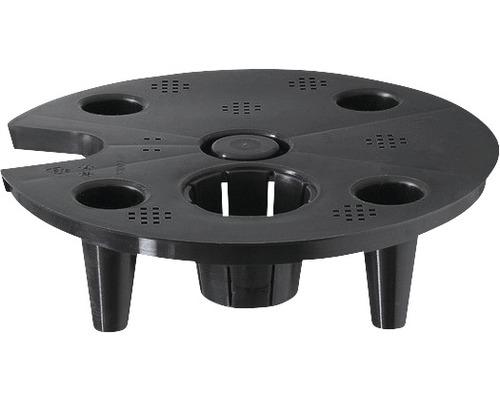 Separerande botten för Classico Ø35cm plast svart