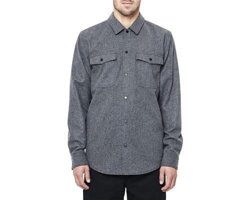 Skjorta DEPALMA Midpoint fodrad grå strl. XL
