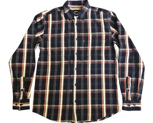 Skjorta DEPALMA Rancher marinblå/vit/orange strl. XXL