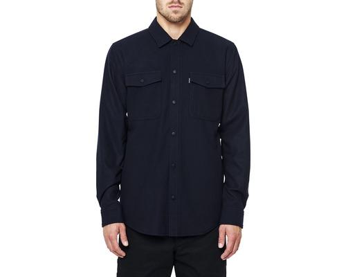 Skjorta DEPALMA Midpoint fodrad marinblå strl. M