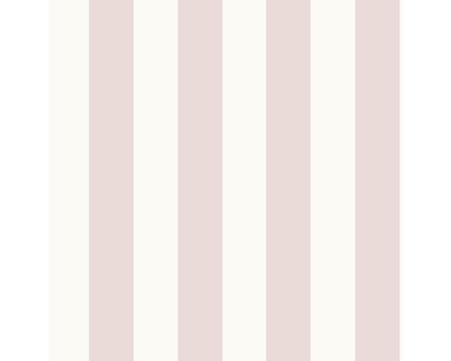 Tapet BOUTIQUE Kids at Home stripe pastel cerise vit 108558