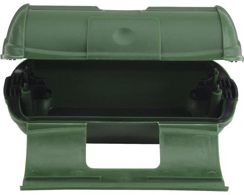 Skyddsbox Caravan stor IP44 grön