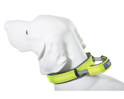 Halsband ArmoredTech Dog Control M 39-45cm neongrönt