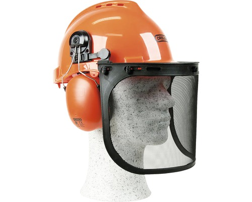Skyddshjälm OREGON med visir & hörselskydd justerbar 52-62cm