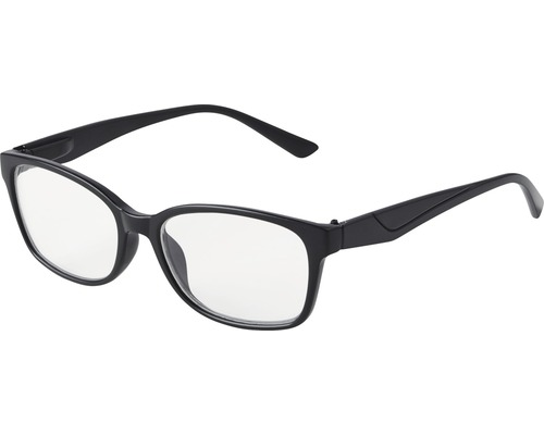 Skydds- läsglasögon Berlin svart +1