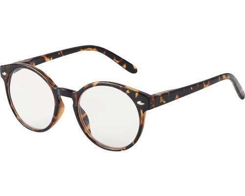 Skydds- läsglasögon Copenhagen brun +1