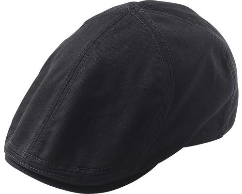 Flat cap Desmond Duckbill svart S/M
