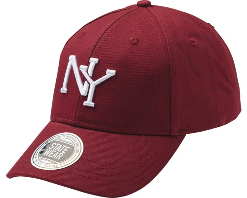 Keps New York H vinröd OneSize