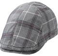 Flat cap Merrit Duckbill svart/vinröd S/M
