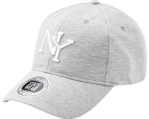 Keps New York H gråmelerad OneSize