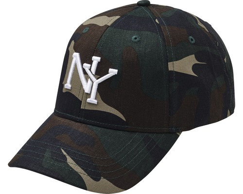Keps New York H kamouflage OneSize