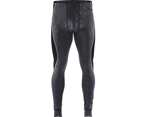 Underställ BLÅKLÄDER byxa merinoull grå/svart strl. XS