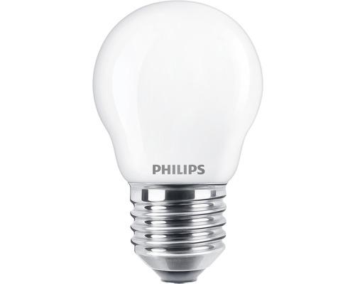 Ljuskälla PHILIPS LED classic matt P45 E27/2,2W(25W) 250lm 2700K