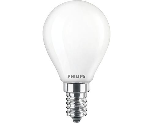 Ljuskälla PHILIPS LED classic P45 matt E14/4,3W(40W) 470lm 2700K