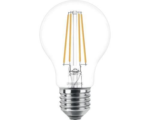 Ljuskälla PHILIPS LED classic A60 klar E27/7W(60W) 806lm 2700K