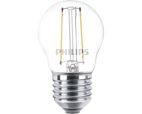 Ljuskälla PHILIPS LED classic P45 klar E27/2W(25W) 250lm 2700K