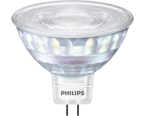 Ljuskälla PHILIPS LED classic dimbar MR16 klar GU5.3/7W(50W) 621lm 2200K + 2700K