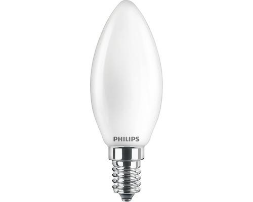 Kronlampa PHILIPS LED 4,5W(40W) B35 E14 470lm 2200-2700K dimbar