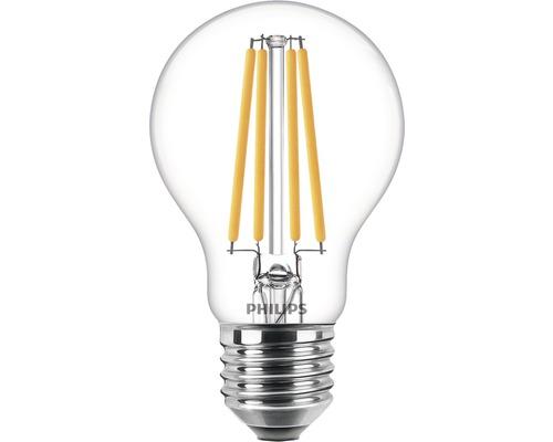 Ljuskälla PHILIPS LED classic A60 klar E27/10,5W(100W) 1521lm 2700K
