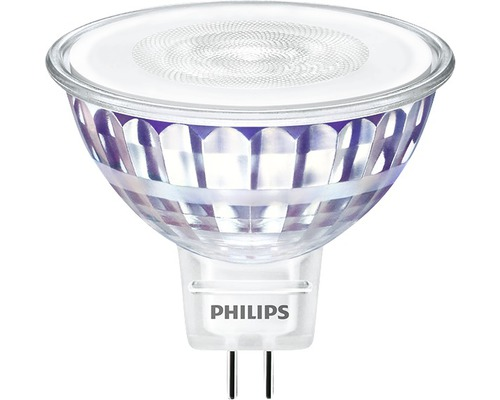 Ljuskälla PHILIPS LED classic MR16 klar GU5.3/7W(50W) 621lm 2700K