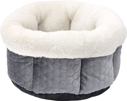 Hundbädd KARLIE 45x45x23cm grå