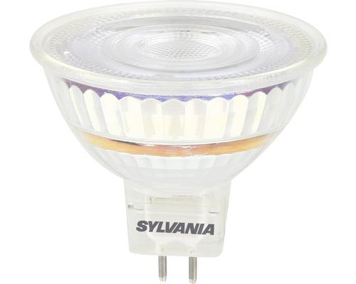 Reflektorlampa SYLVANIA LED MR16 klar GU5.3/7W(70W) 480lm 6500K dimbar