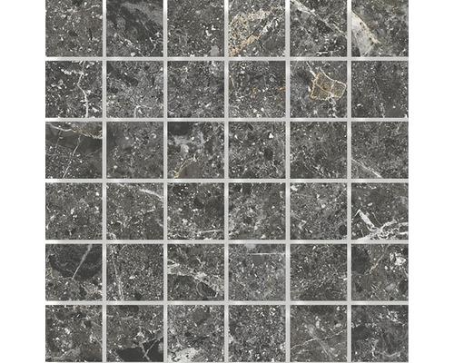 Mosaik Sarite Stone svart 5x5cm