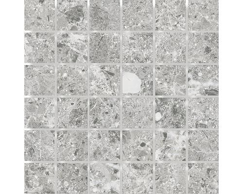 Mosaik Sarite Stone grå 5x5cm