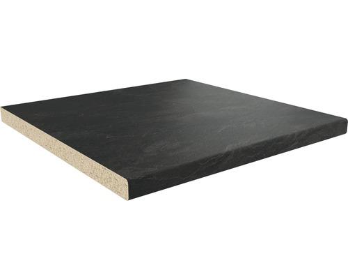 Bänkskiva GETALIT matt svart bronzit 29x635x4100mm